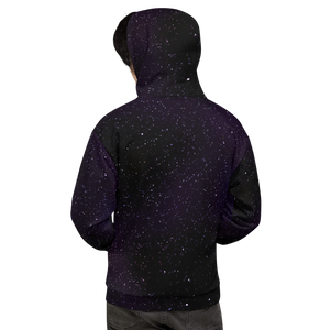 Starlight Fields Purple Unisex Hoodie