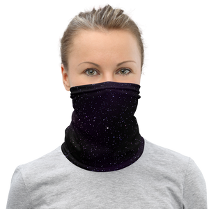 Star Field Purple Unisex Neck Gaiter