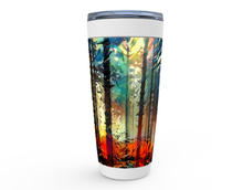 Load image into Gallery viewer, Abstract Cold Autumn Forest Viking Tumblers
