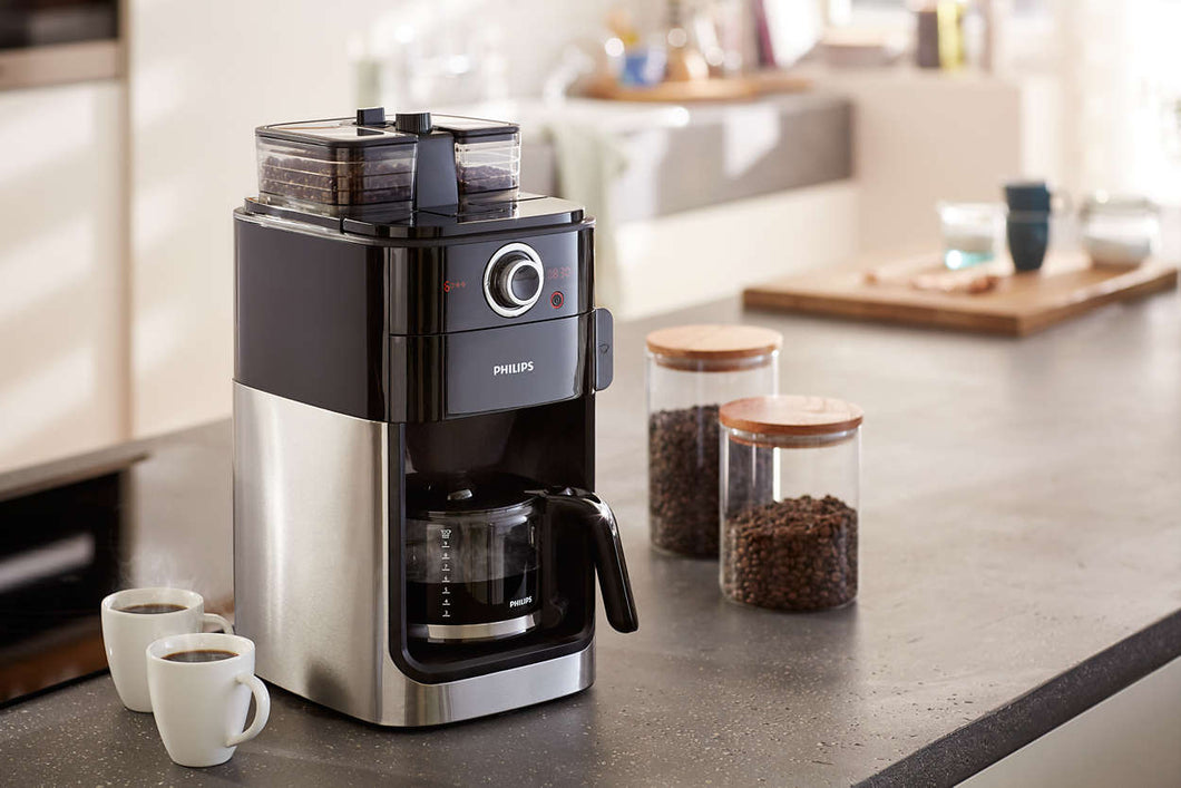 Philips Grind And Brew Coffee Machine