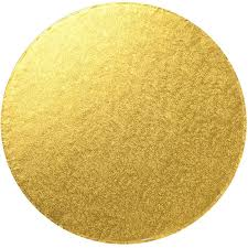 Cake Board Gold Masonite