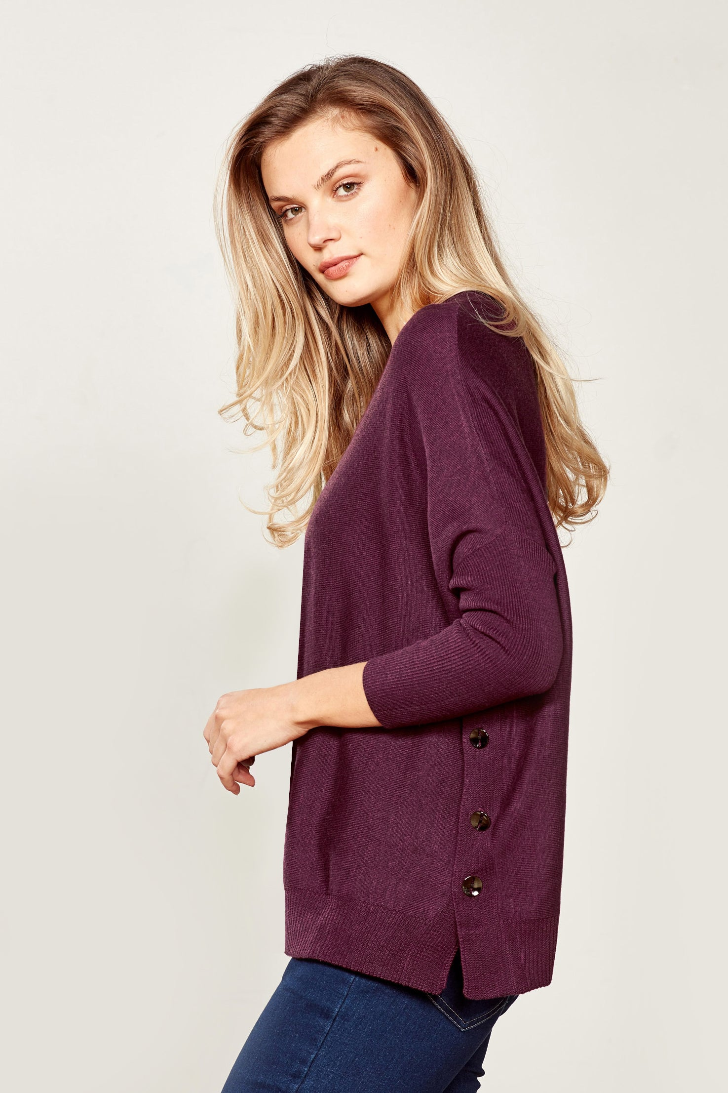 Lemon Tree Design Valentina Knit Purple