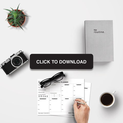 download to get your free planner