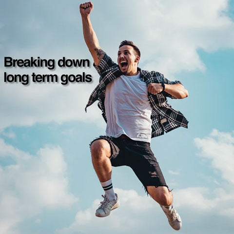 breaking down long term goals
