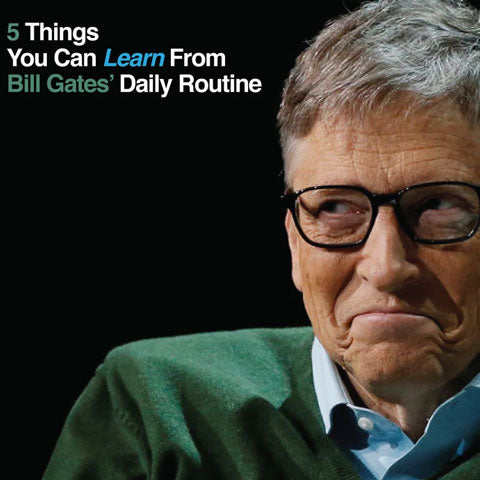 5 things to learn from Bill Gates