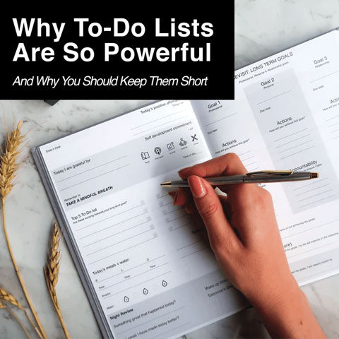 why to-do lists are powerful
