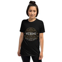 Load image into Gallery viewer, WEBDMG Black Shirt