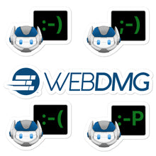 Load image into Gallery viewer, WEBDMG Robot Emoji Stickers Pack