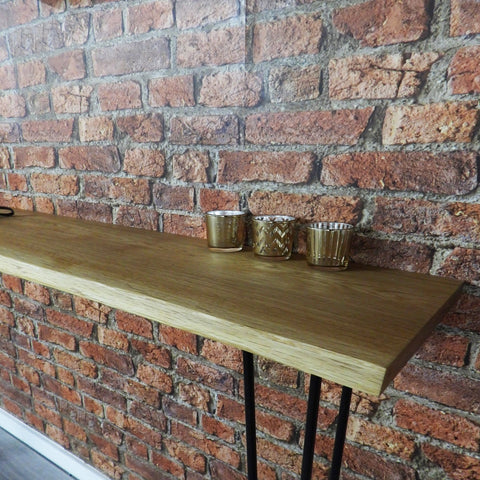 Oak Console Table