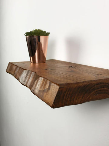 Waney Rustic Shelf