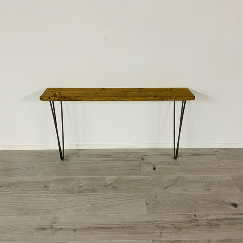 Narrow Rustic Console table