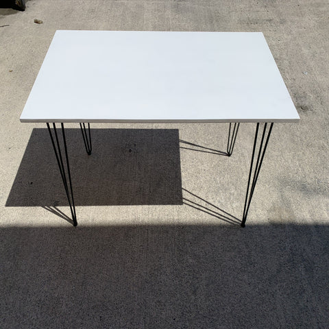 Plywood Painted Top Desk