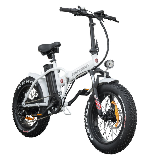 Daymak New Yorker Fat Tire 36V Foldable Electric Bicycle