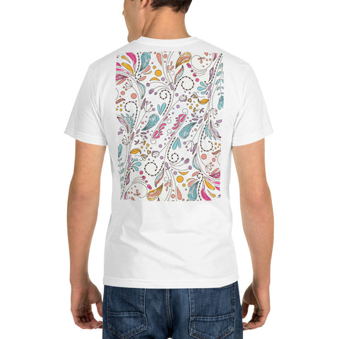 Floral Doodles - Sustainable T-shirt