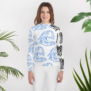 Surfing Youth Rash Guard