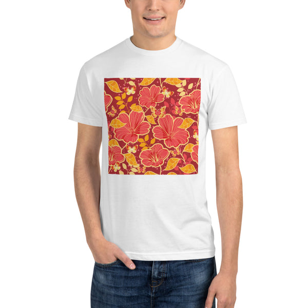 Seamless Floral - Sustainable T-shirt