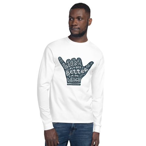 Life's a Beach - Champion Long Sleeve T-Shirt