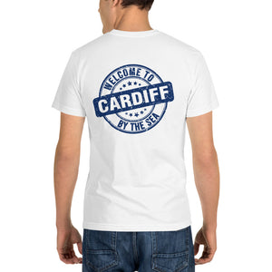 Welcome to Cardiff by the Sea - White Sustainable T-shirt