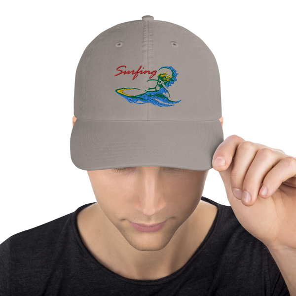 Surfing Bottom Turn - Champion Hat