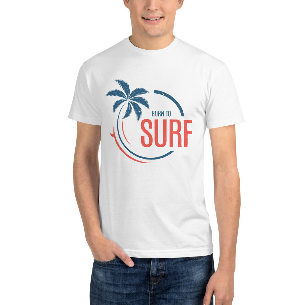Born to Surf - Sustainable T-shirt
