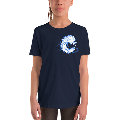 CARDIFF WAVE - Youth Short Sleeve T-Shirt