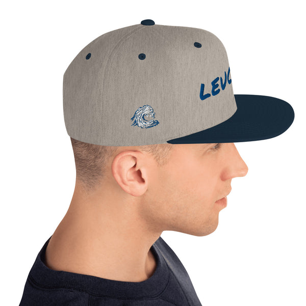 LEUCADIA Wave right side - Snapback Hat