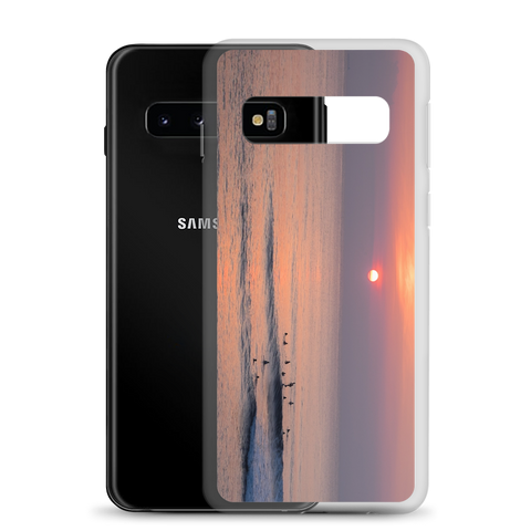 Sunset Surfing Samsung Case