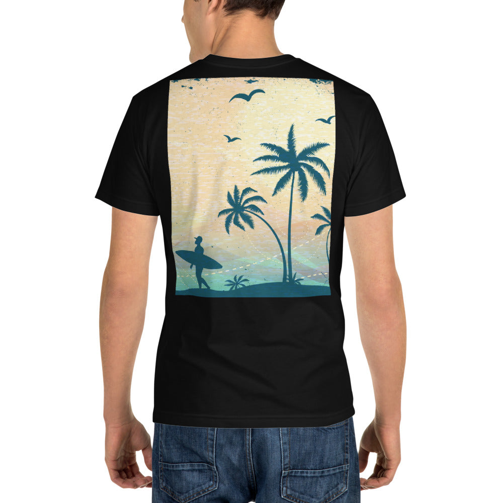 Summertime back - Sustainable T-shirt