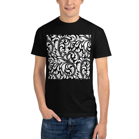 Floral Pattern - Sustainable T-shirt