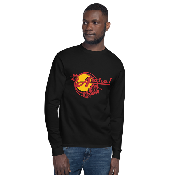 Aloha Tropical Hibiscus - Champion Long Sleeve T-Shirt