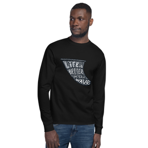 Life's a Wave - Champion Long Sleeve T-Shirt