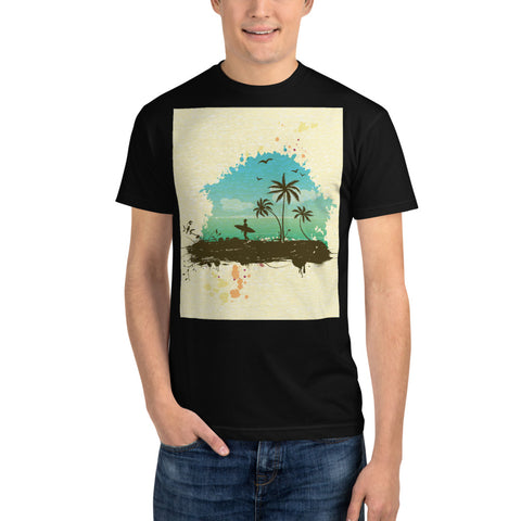 Summertime front - Sustainable T-shirt