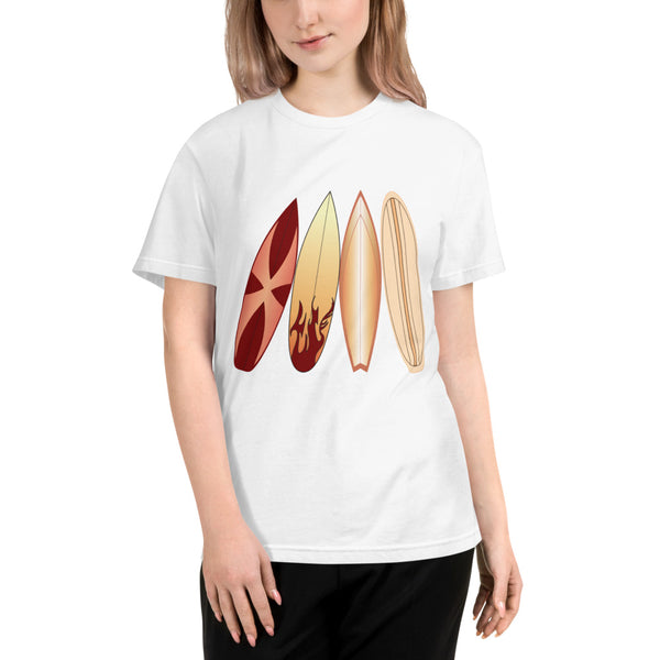 Abstract Surfboards - Sustainable T-shirt