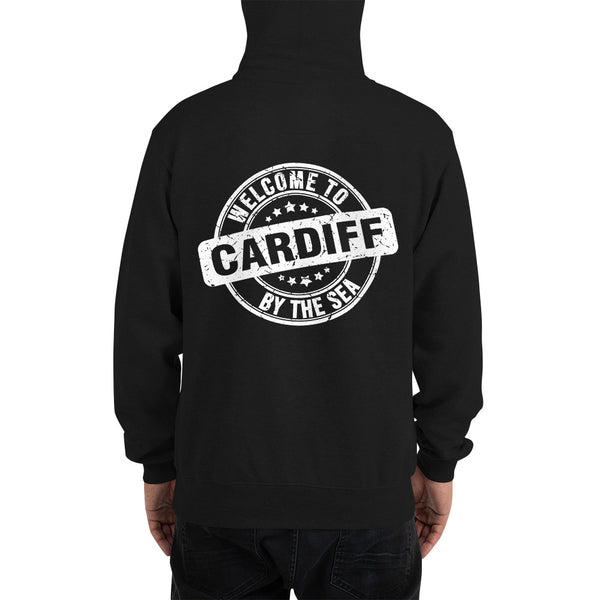 Cardiff-by-the-Sea white - Champion Hoodie