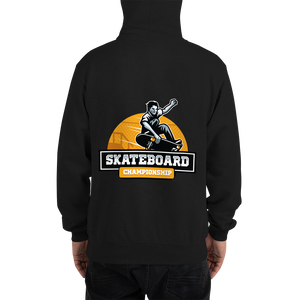 Skakeboarder Go Big or Go Home - Champion Hoodie