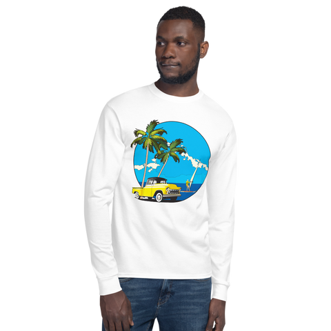 Yellow Truck Wind Surfer - Champion Long Sleeve T-Shirt