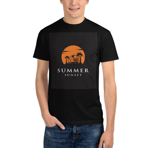 Summer Sunset - Sustainable T-shirt