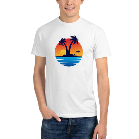 Sunset Logo - Sustainable T-shirt