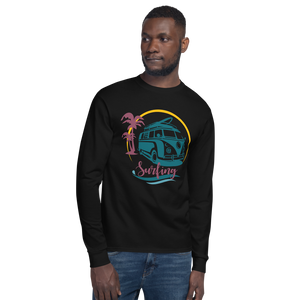 Seaside Surfing - Champion Long Sleeve T-Shirt