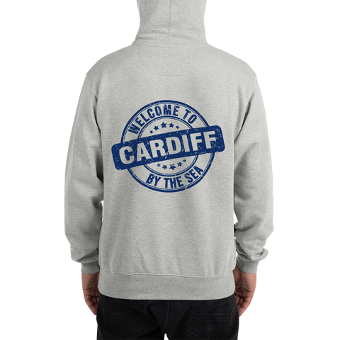 Cardiff-by-the-Sea blue - Champion Hoodie