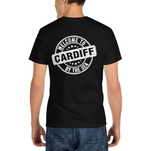 Welcome to Cardiff by the Sea - Black Sustainable T-shirt