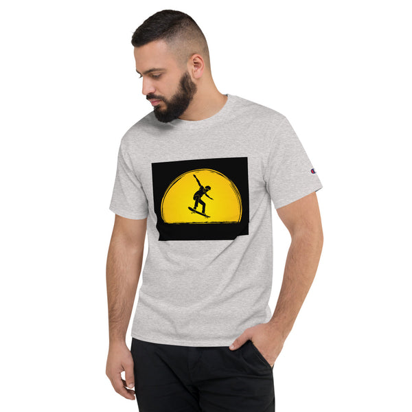 Ollie into Sunset - Champion T-Shirt