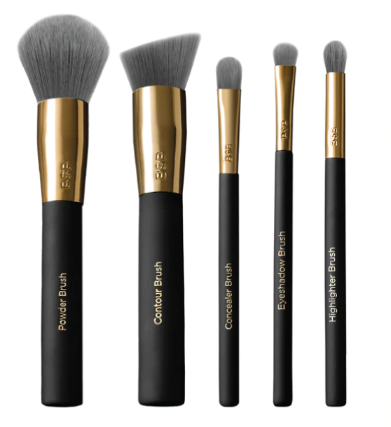 Charcoal 5 Piece Brush Set - INDOSHOPPER