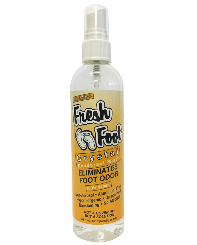 Fresh Foot Crystal Deodorant Mist - INDOSHOPPER