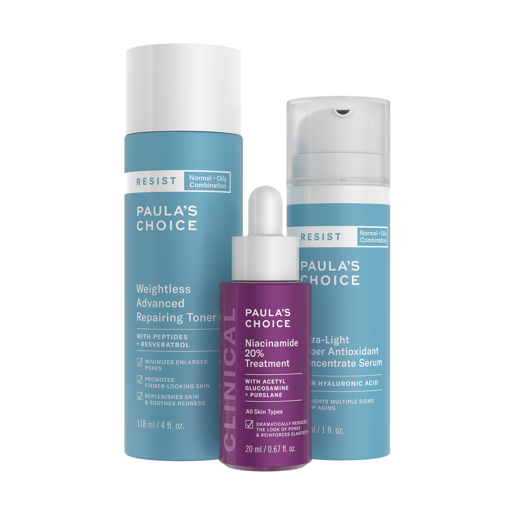 Pore + Wrinkle-Reducing Trio