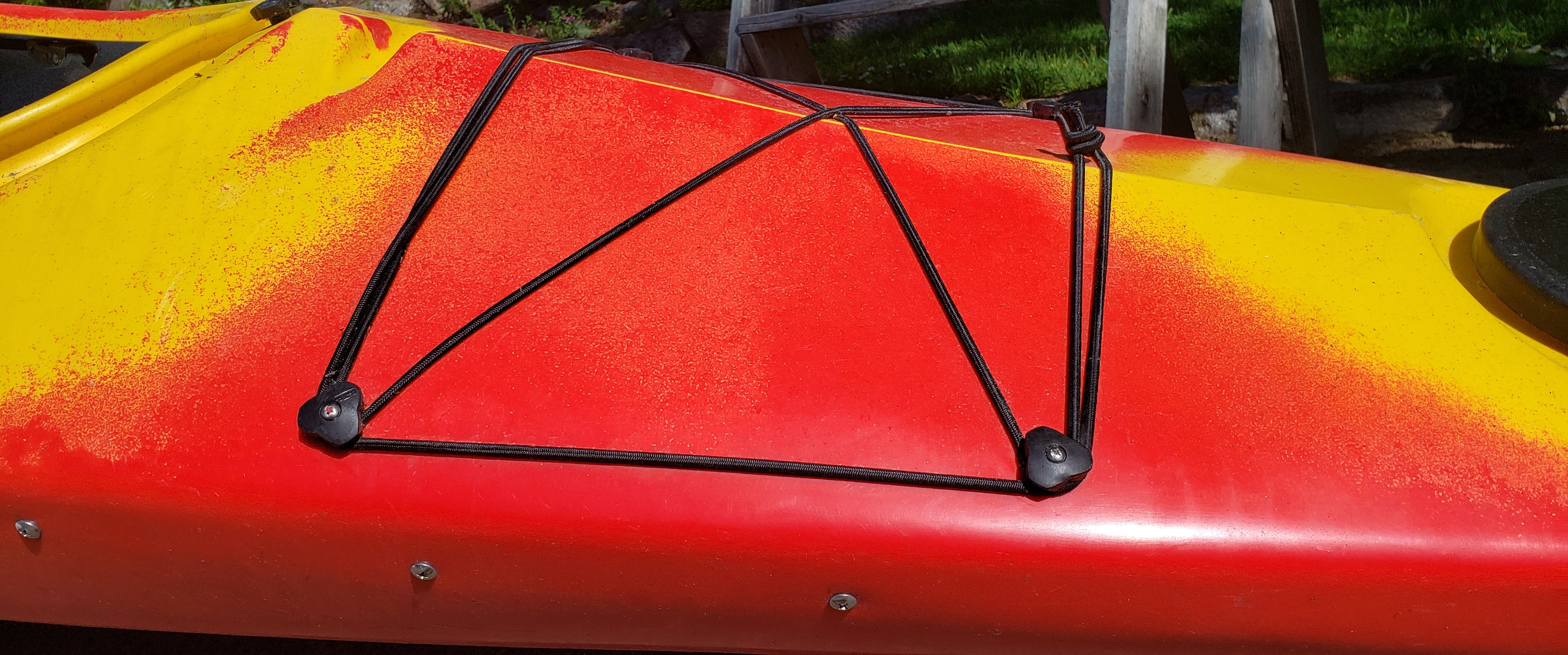 Kayak Deck Mount for shock cord