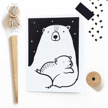Greeting Card - Wee Gallery | High-Contrast Newborn & Baby Developmental Toys & Gifts