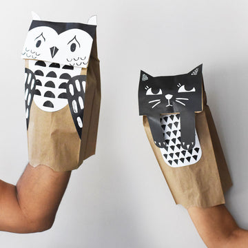 DIY Puppets - Wee Gallery | Smart Art for Growing Minds | Modern Gifts & Decor