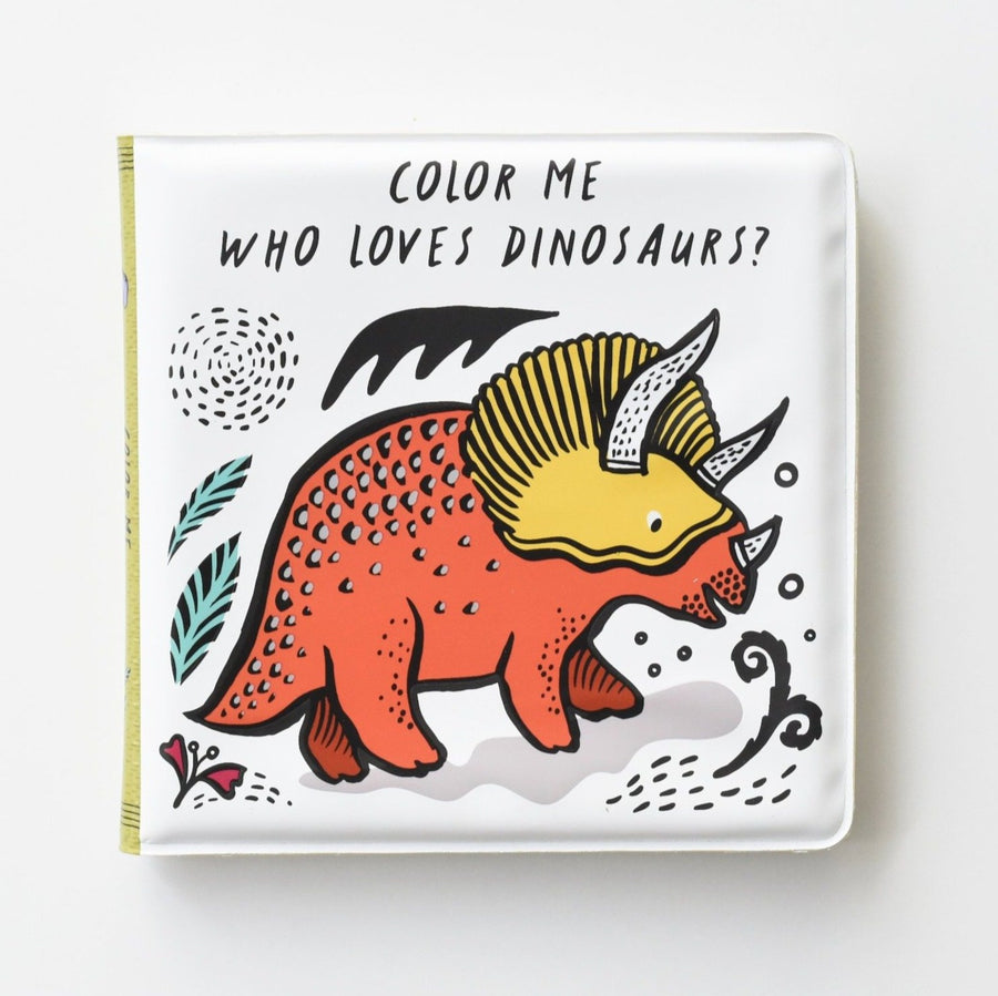 Color Me: Who Loves Dinosaurs