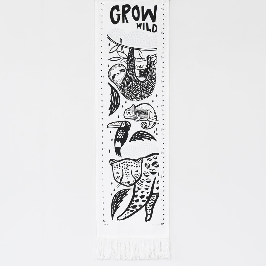 Canvas Growth Chart - Rainforest